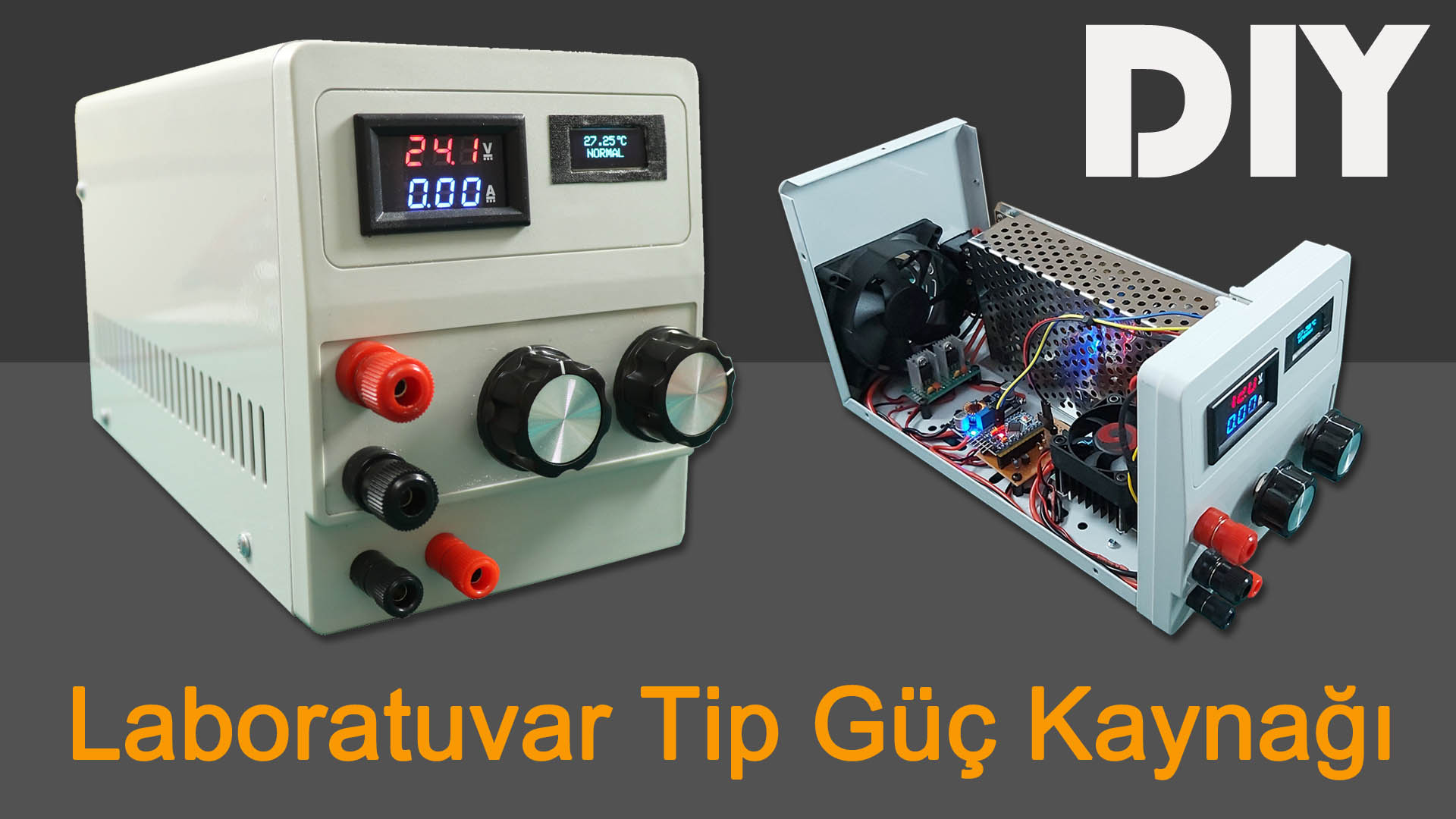 How To Make 1.2-24V | 0-9A Power Supply Variable Voltage, Current. DIY Laboratory Adjustable PS 120W