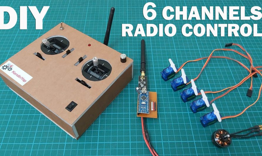 How To Make 6 Channel Radio Control For Models. Diy Proportional RC