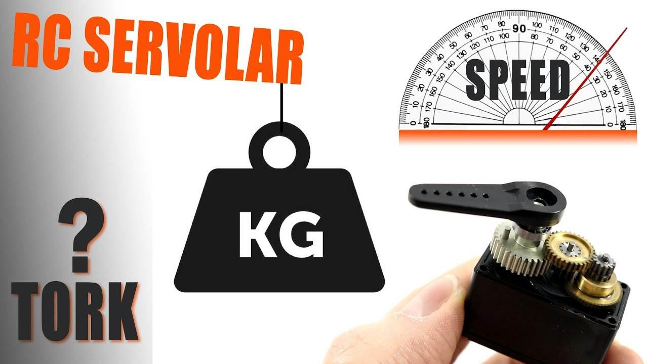 RC Servo Motorlar. Analog Servo, Dijital Servo, Servo Gücü Nedir?