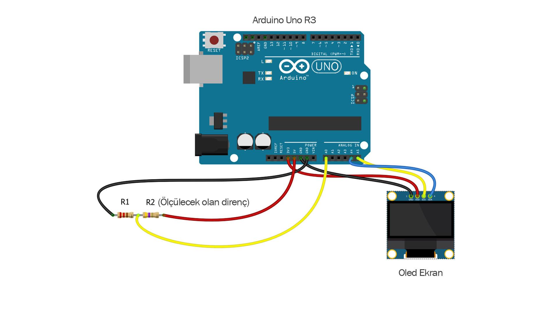 Arduino Ohm Meter (Diy Resistor Value Meter)