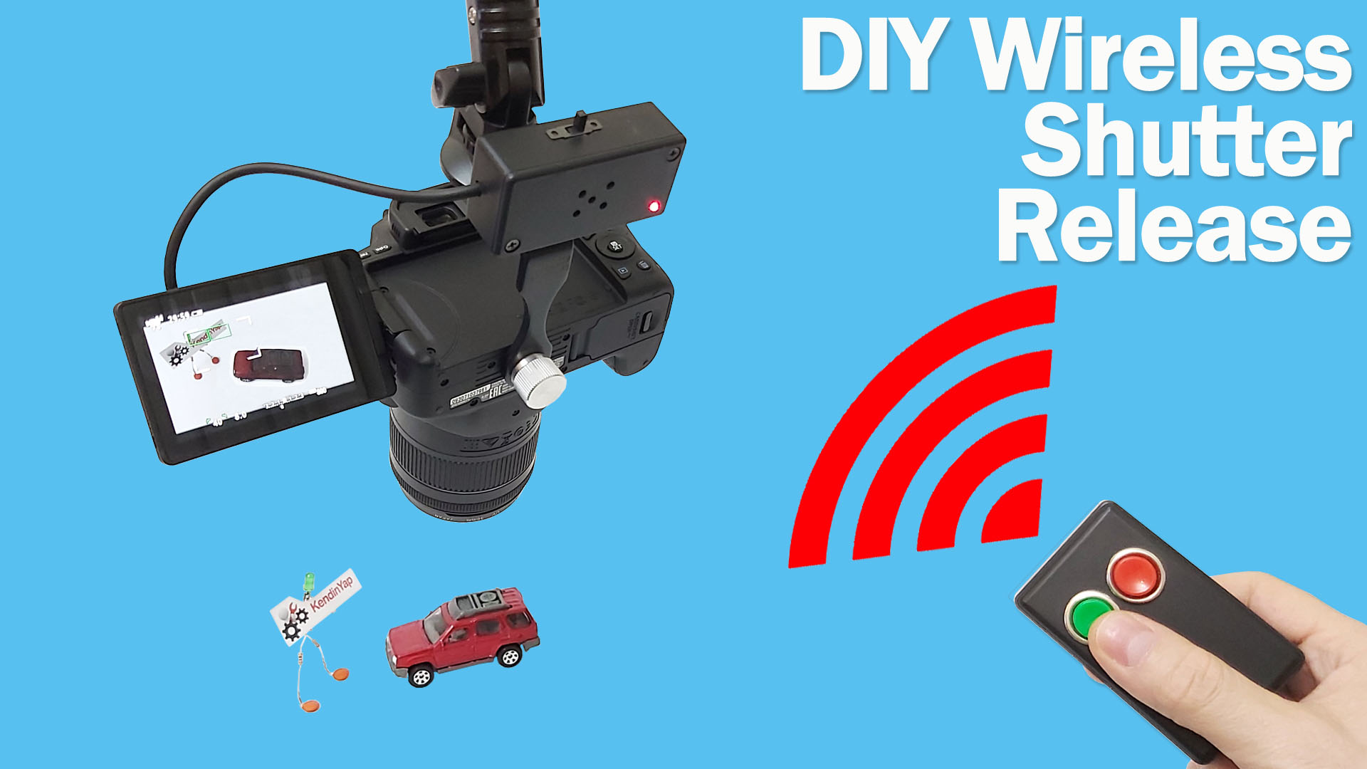 How To Make Wireless Shutter Release For SLR | DIY Wireless Trigger