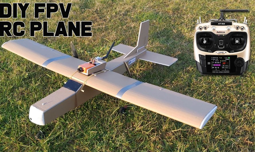 How to Make FPV RC Airplane. DIY Model Airplane With Camera