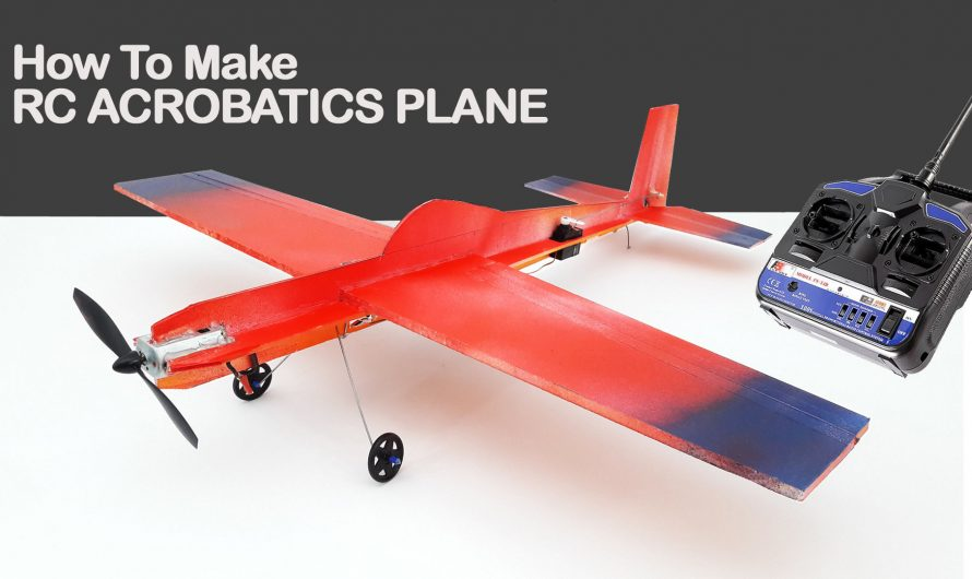 How to Make a Rc Acrobatics Plane From Foam Board