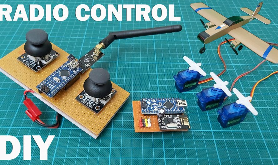 Simple and Cheap Radio Control Making for RC Models. DIY RC