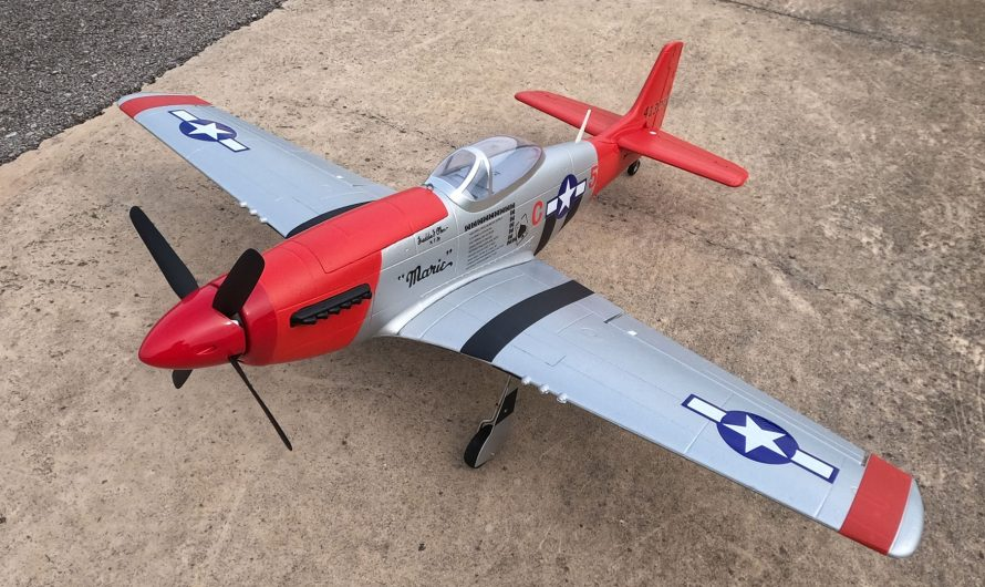 HookII P 51 Mustang RC Airplane