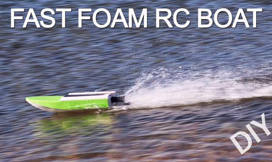 How To Make Fast RC Boat. Diy Basic Single Motor RC Boat