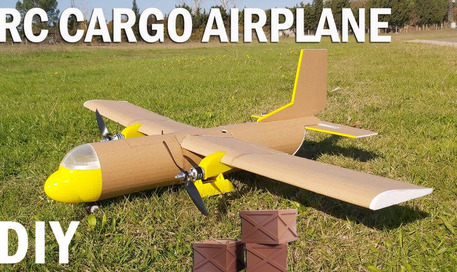 How To Make RC Cargo Airplane. DIY Twin Motor Model Aircraft.