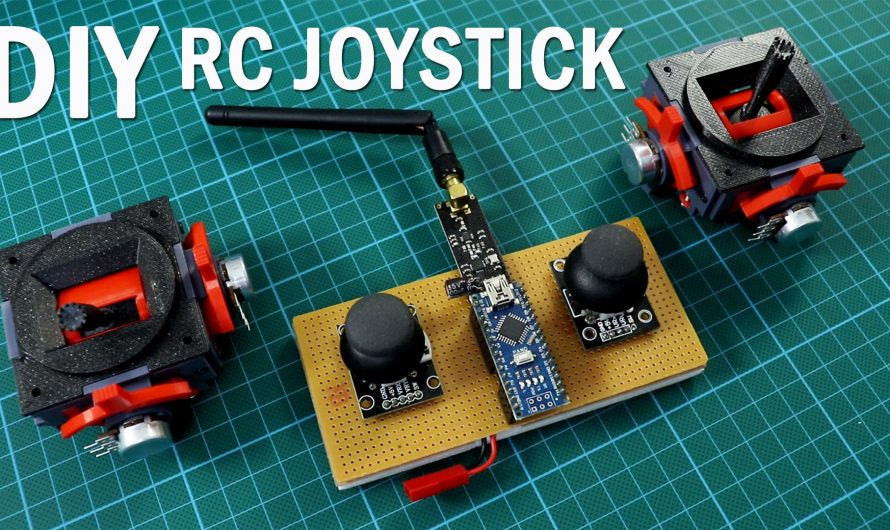 How To Make RC Joystick With Trim For Diy Radio Control Circuits