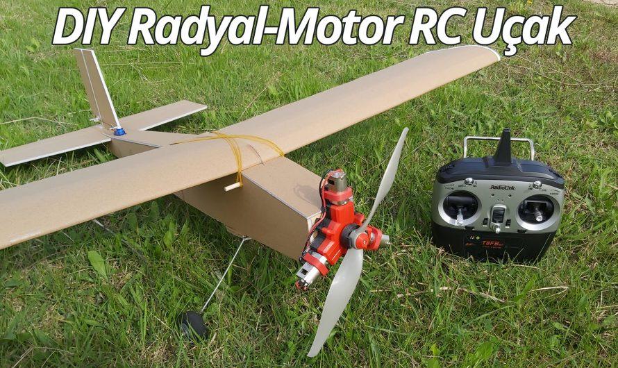 Making Radial Motor Airplane. Diy RC Airplane.